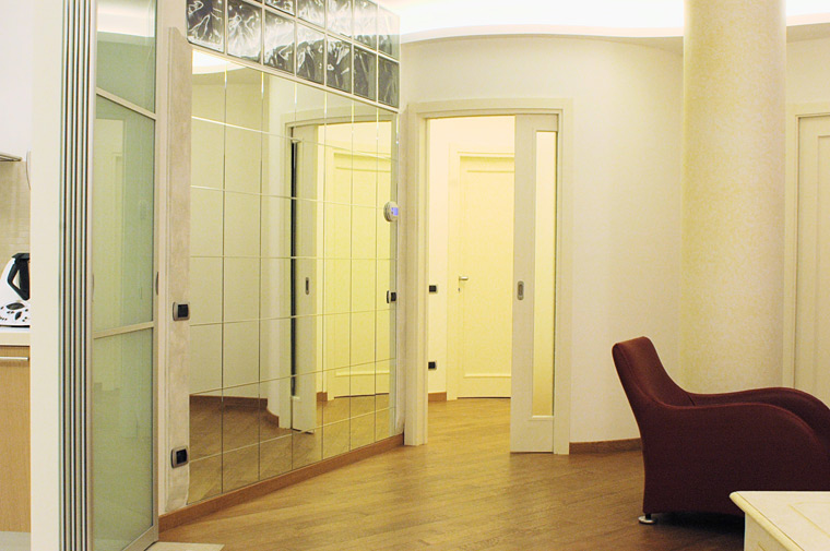 Parete divisoria cartongesso ingresso ingresso soggiorno cucina ambiente unico meglio di - Parete divisoria in cartongesso ...