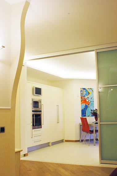 Parete divisoria in cartongesso idee di design per la casa - Parete divisoria cartongesso ...